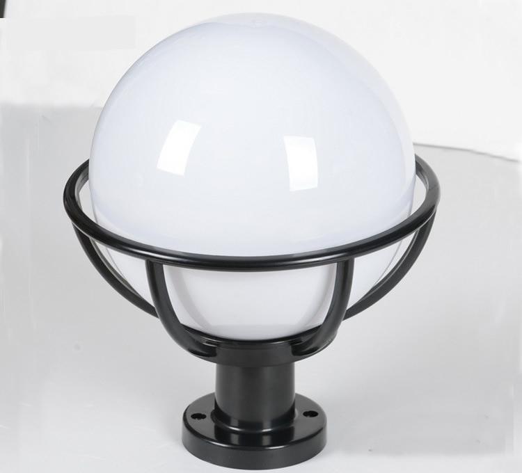 Street Lamps landscape gardening balls