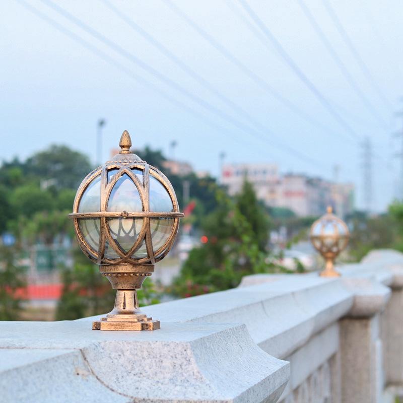 Street Lamps landscape gardening balls E27