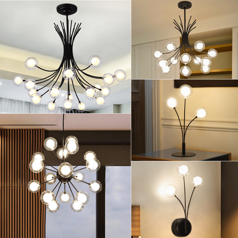 LED  chandeliers FORIN