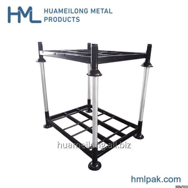 Buy HML high quality hot dip galvanized steel pipe storage rack