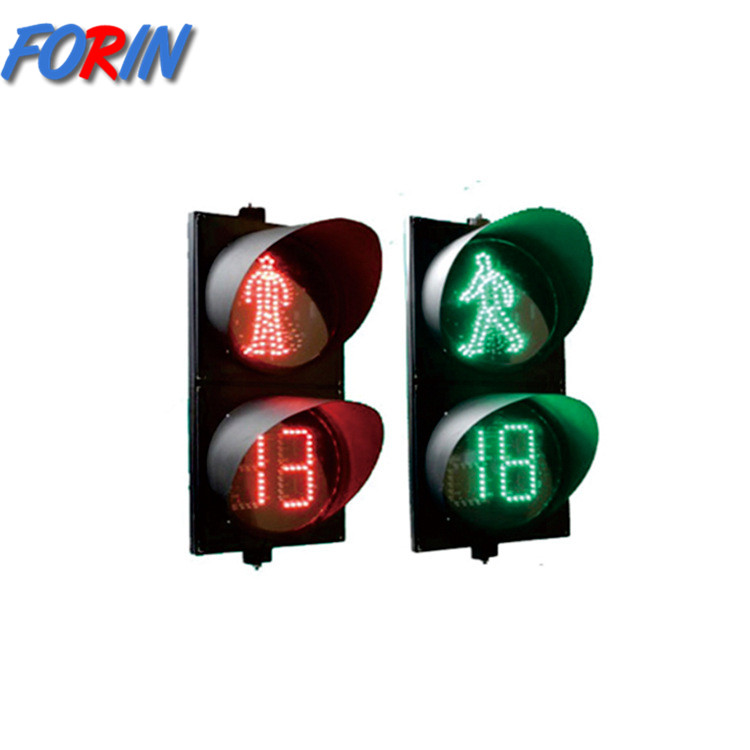 300mm led Red and green pedestrian traffic light with from china
