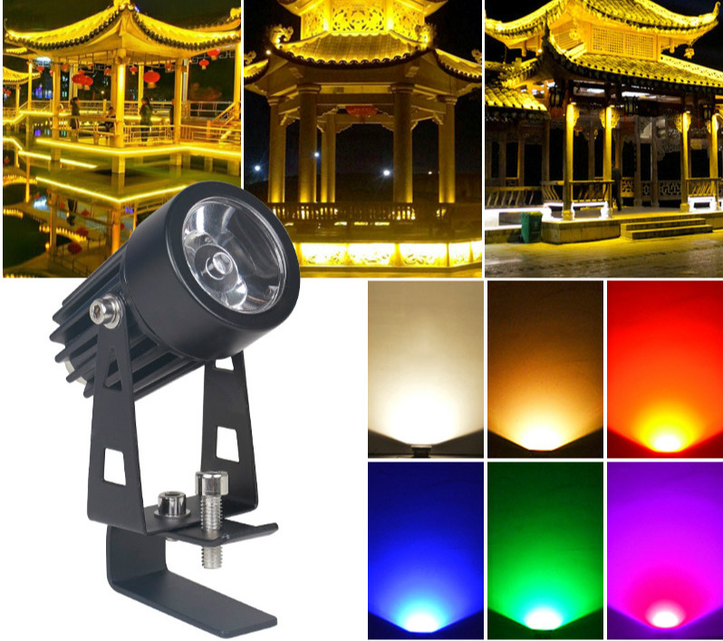 LED Flood Light Outdoor with sensor for trees   from  China factory