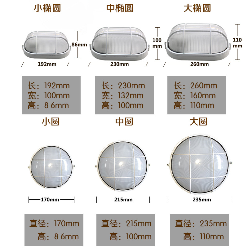 LED Waterproof lamp   10W from china