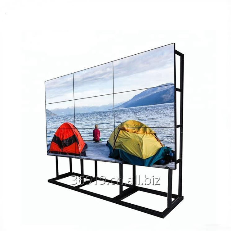 Buy 55 inch 500Nit/700 Nit 1.7mm Bezel LCD Video Walls