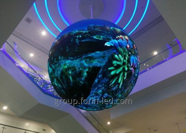 LED screens balls video balls for rooms P4 360° Dia 2M  China