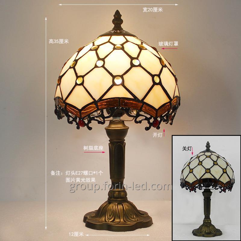 cumpără Tiffany Vitraliu de masă Lămpi forma China