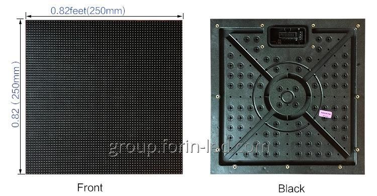 Indoor LED Module SMD RGB P4.81 250mm ×250mm