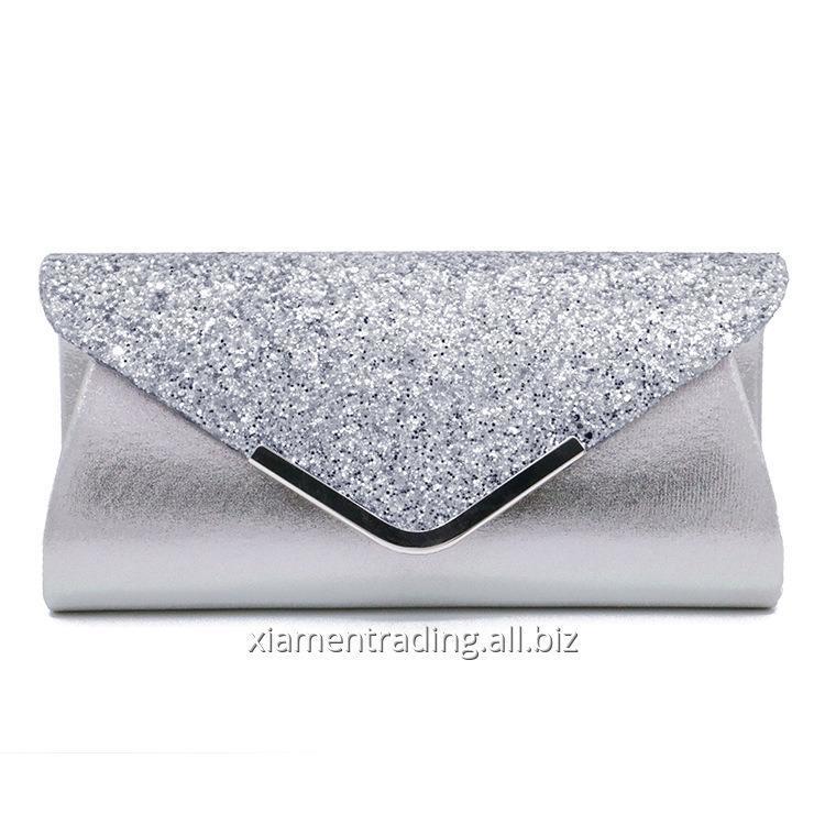 Buy Party Bag Pu Sequin women's bag Hand Bag Makeup Bag