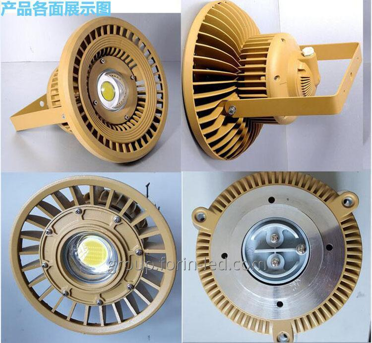 Led industrial explosion-proof lamp IP65 100W 220W 220V