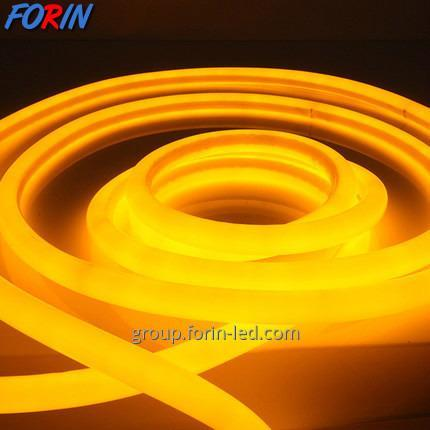 Flexible LED cord silicone neon 12V signboard made of flexible neon yellow