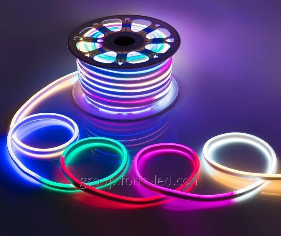 Flexible neon led neon flex outdoor 220V white 6×12mm RGB