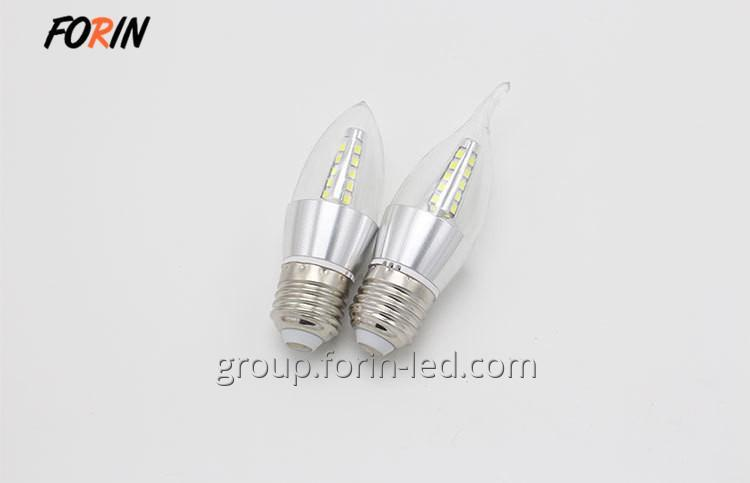 LED lamp candles in the wind transparent  E14 220V 2700K China factory