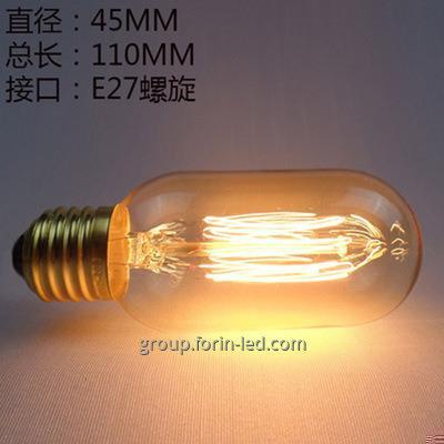 incandescent filament decorative warm white for a bar  C35 G45 T30 ST64  E27 2700K