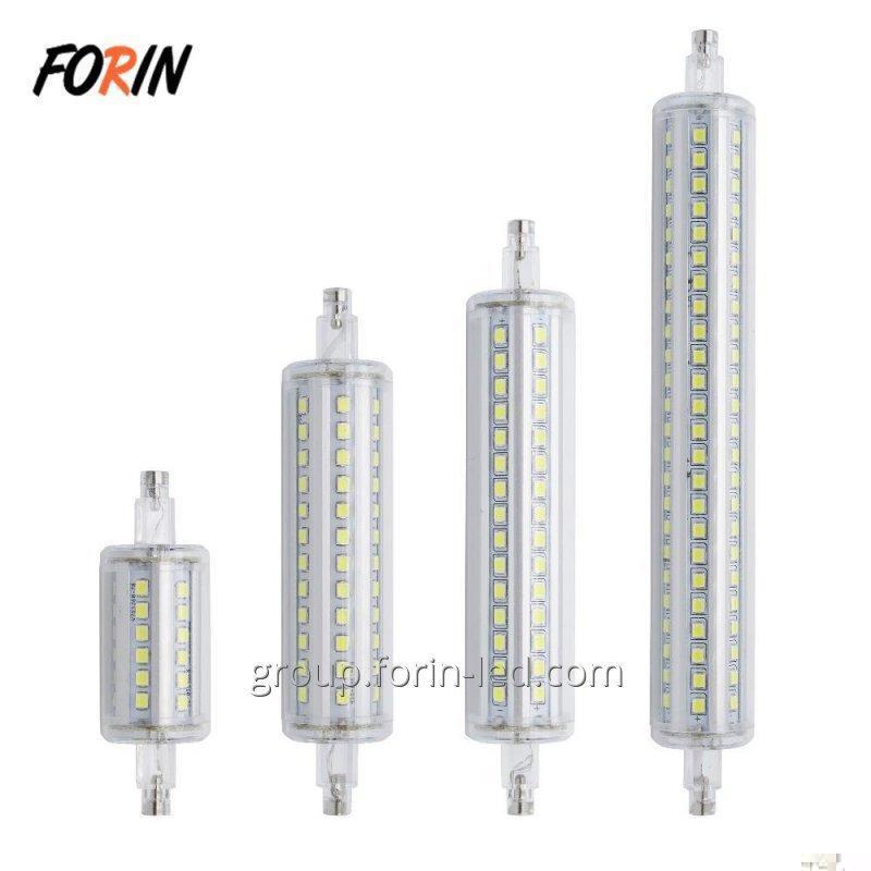 LED lamp R7S 220V 5W 10W 6W 8W 9W 12W 18W linear white replace halogen 6500K