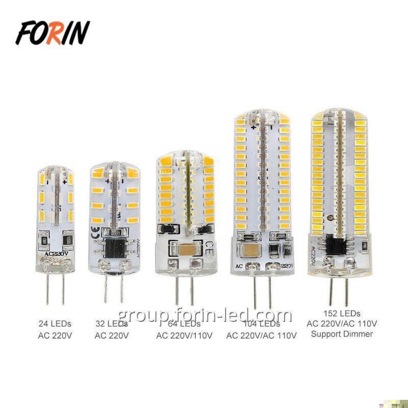 LED bulbs with G4 socket on chandeliers warm white 3W 5W 9W 12V G4 G9 2700K