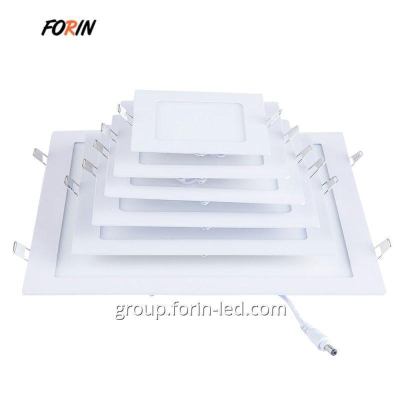 ultra-thin rectangular LED panels  3W 6W 9W  12W 15W  18W 24W
