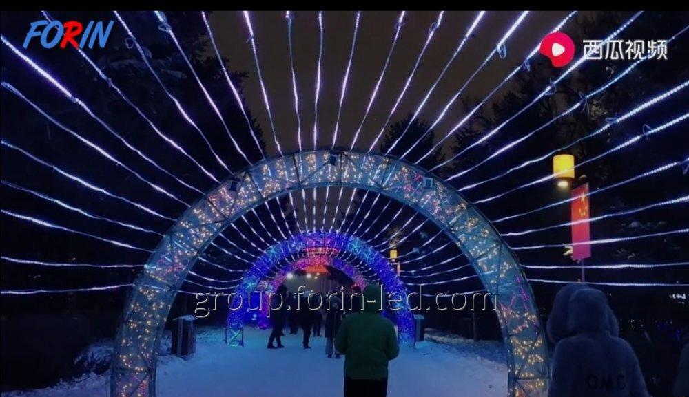 Custom LED Street Festive Arch Custom