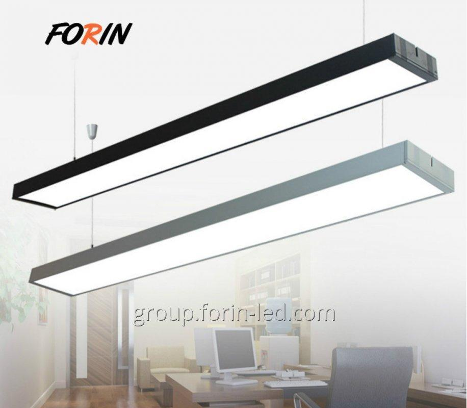 38W linear linear office pendant lights