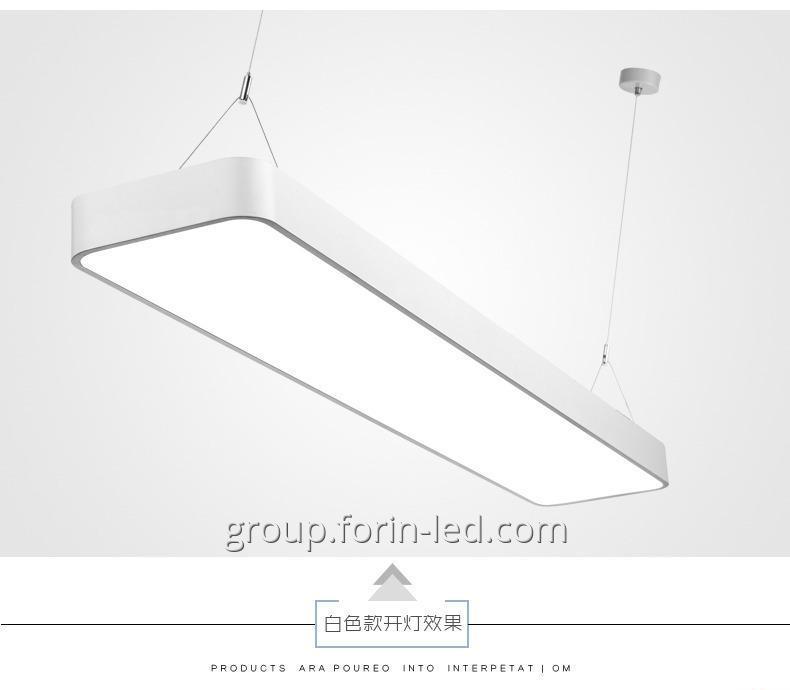 Pendant linear LED lights 38W length 1200mm
