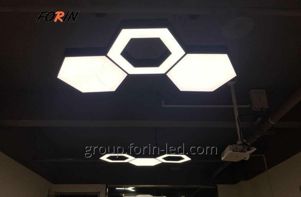 Linear LED downlights Hexagon  Creative