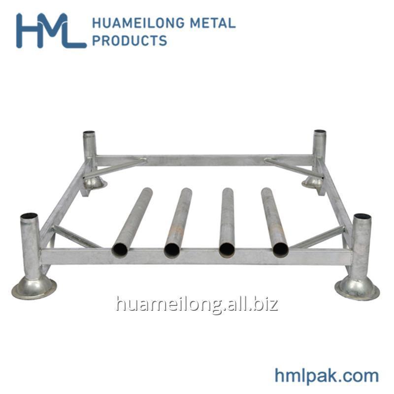 Buy HML material handling mobile manurack pallets steel rack for storage