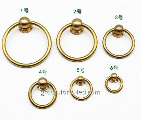 Buy Furniture components and fittings ring stainless steel furniture handles China