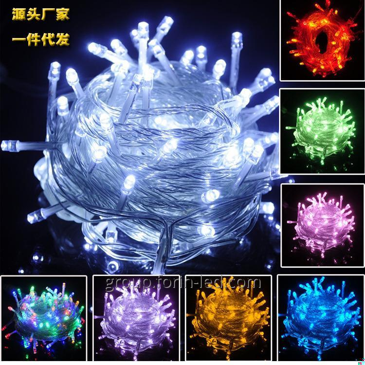 LED Christmas String Lights white  10M 100LED