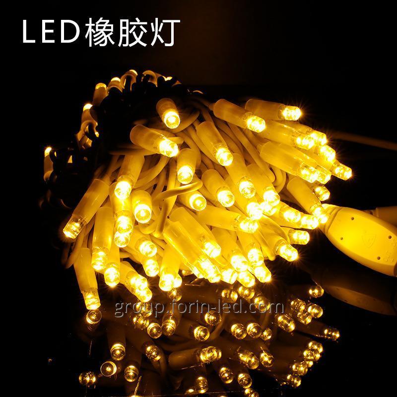 Купить Led уличная гирлянда на дом светодиодная Китай