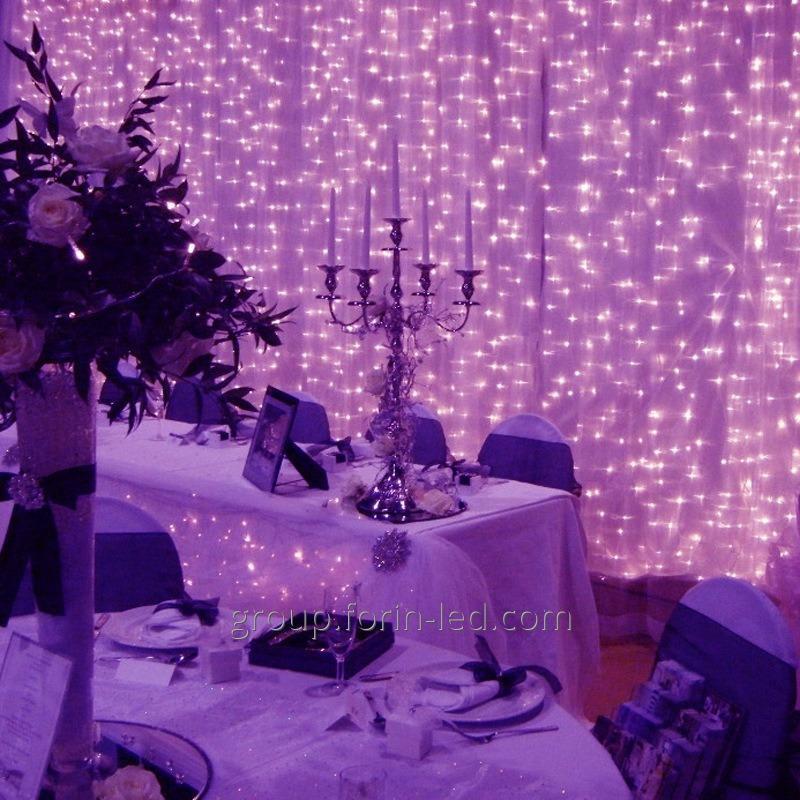 Garland fringe street LED frost-resistant  4мх0,4м