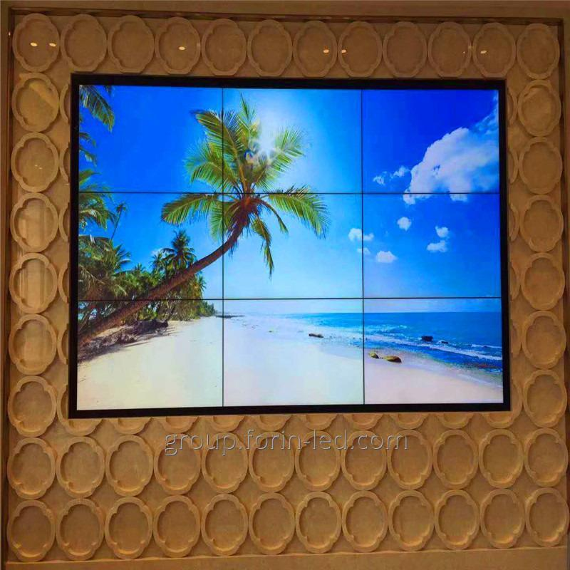 55 inch Media advertisements exhibition splicing screen lcd video walll  Sansug шов 3.5мм