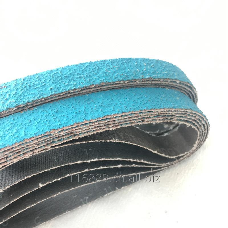 Buy The Domestic Abrasive Belt with Zirconia Alumina grinding for `steel cast iron metal
