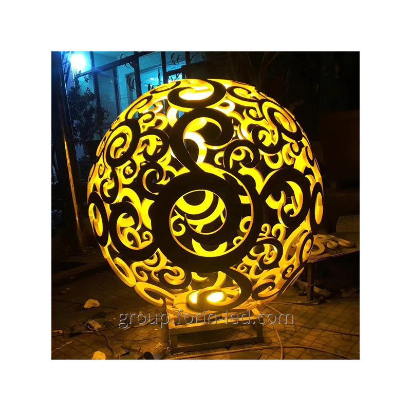 Buy  City tracery sculpture custom-made balls in China factory