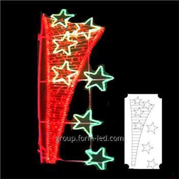 LED motif light Christmas led street