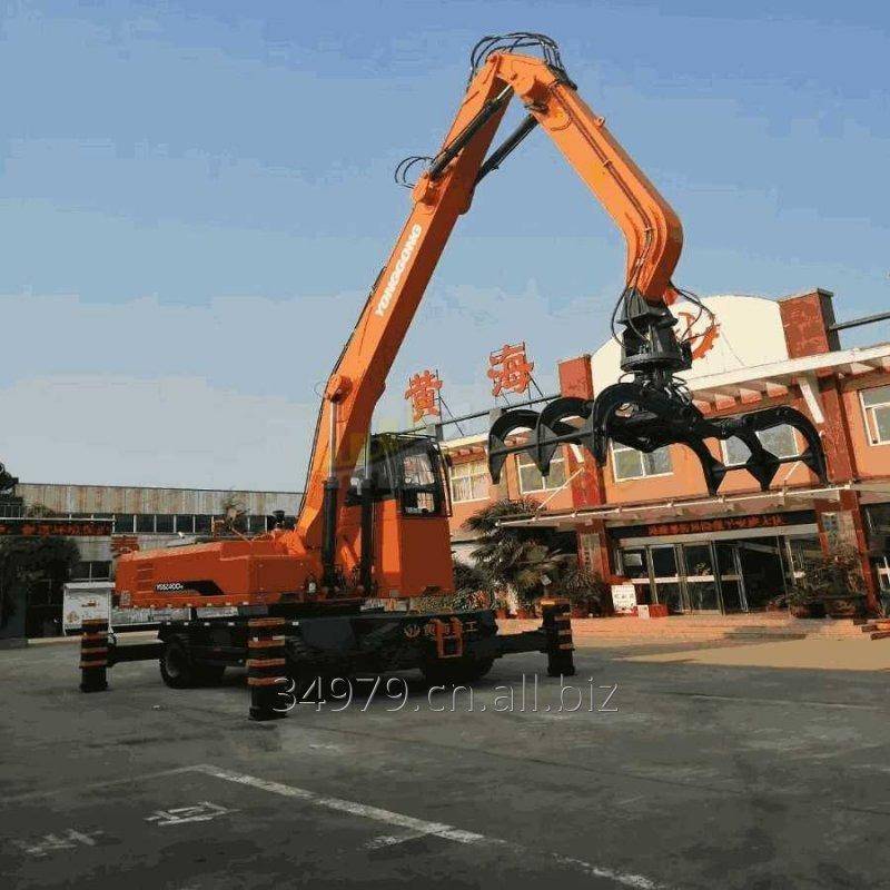 40 Ton Hydraulic Wheel Excavator with Grapple/Log Grab