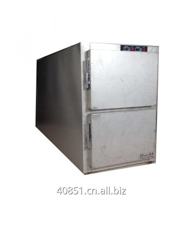 Buy Stainless steel 304 Morgue equipment mortuary refrigerator 2 body freezer