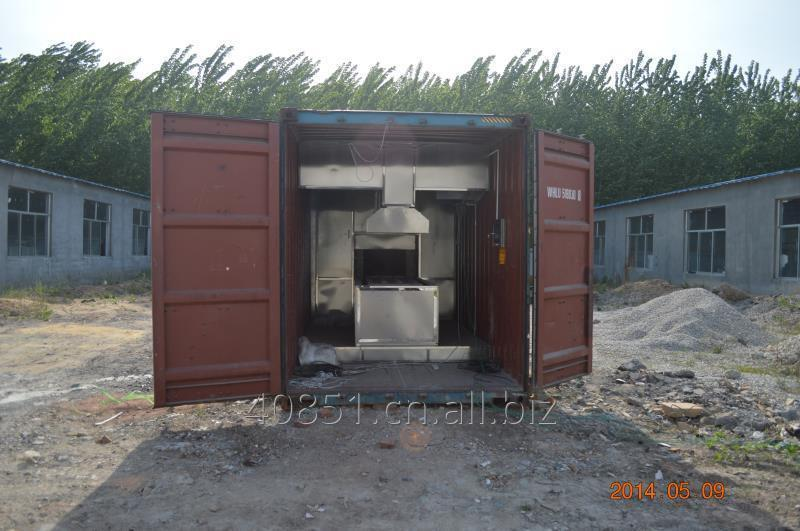Buy Mobile Cremation Machine No Smoke no Smell Negative Pressure Burning Electrical Automatic System