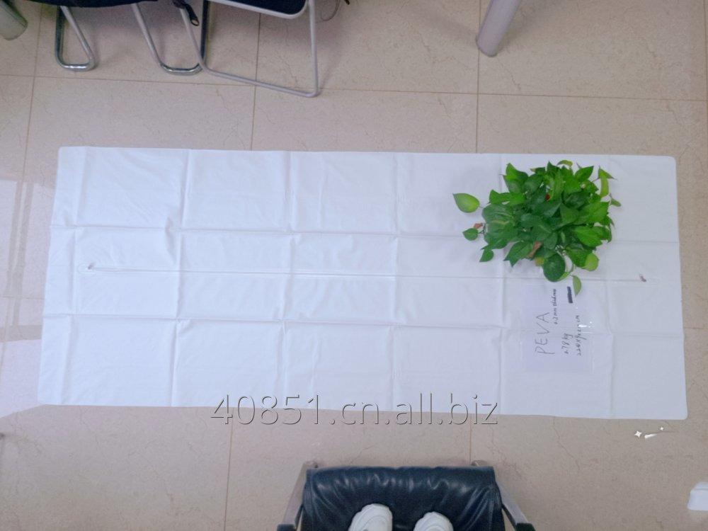 Buy White Chlorine Free PEVA Body Bags
