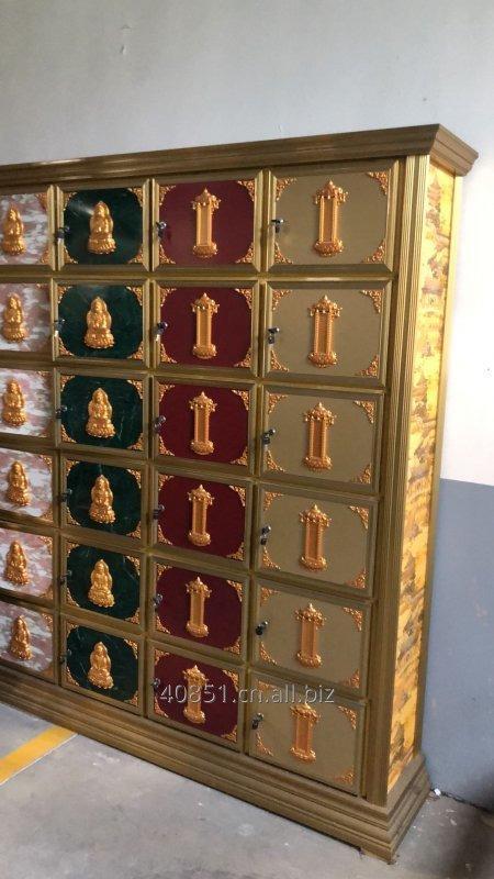 Buy Human ash storage two door system locker columbarium vaults