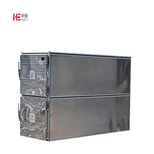 Buy Medical Stainless steel funeral morgue 2 bodies mortuary freezer mortuary refrigerator