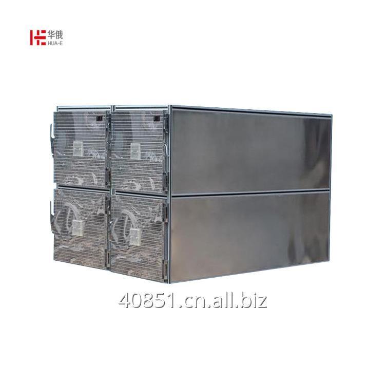 Buy Imported compressor 4 Corpse Morgue Refrigerator medical body cadaver freezer For Dead Body