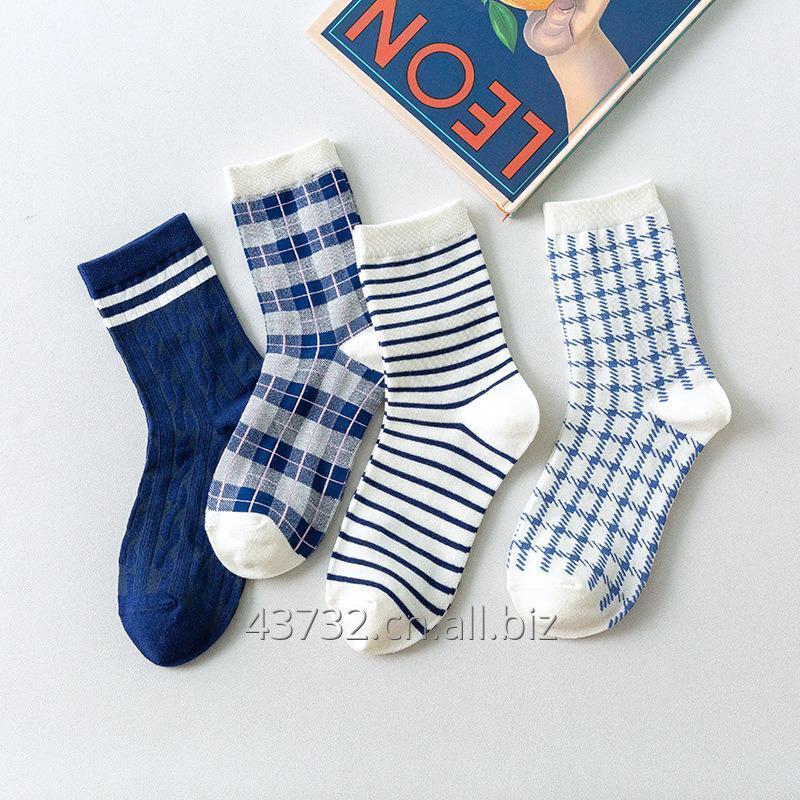 购买 Mens Navy Blue Socks