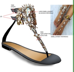 Buy Fashion queen sandal-KAMMIE STYLE