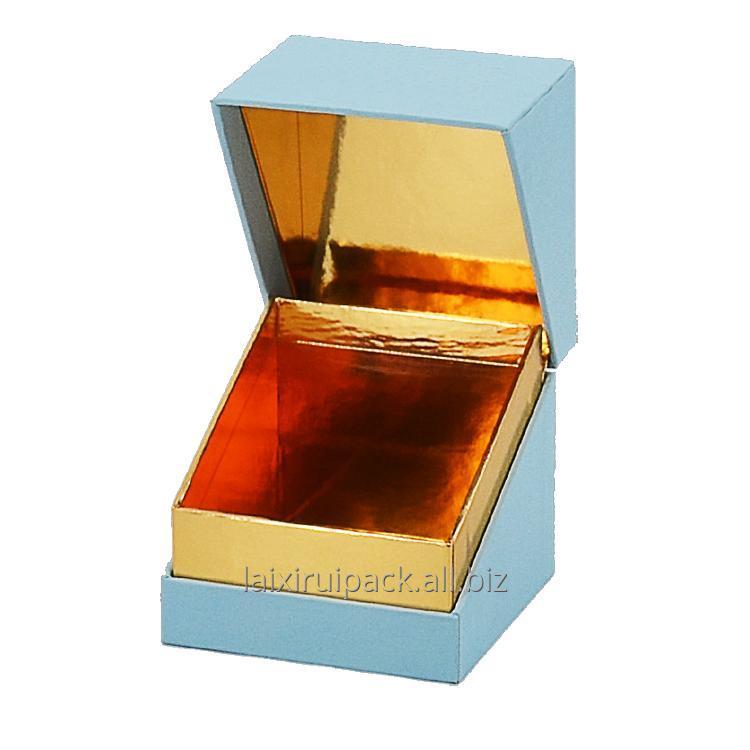 Buy Custom Square shape luxury tea light candle jar packaging box