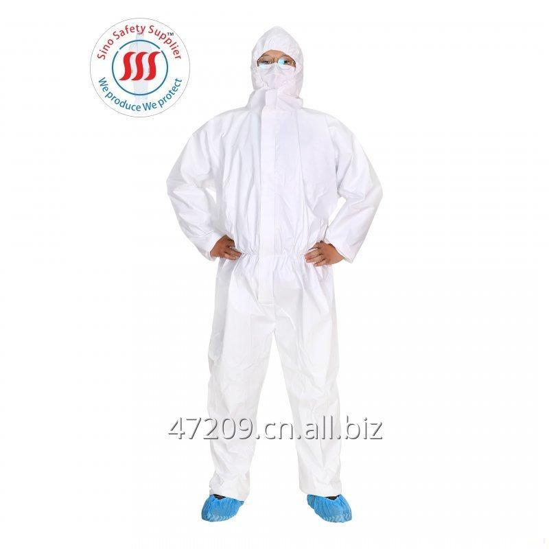 Buy TYPE5/6 MICROPOROUS LAMINATED WATERPROOF DISPOSABLE COVERALL