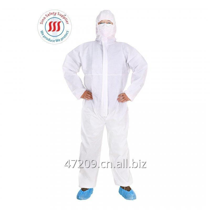 Buy 3 LAYER SMS breathable asbestos removal disposable protective coverall