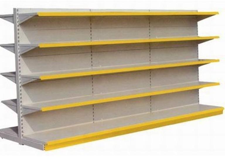超市货架摆放方法 qq超市如何镶   ls-4型货架的设计   精品