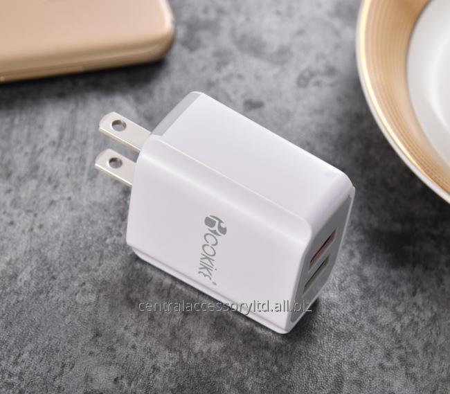 CM-3 Смарт Dual USB Зарядное устройство Главная зарядное устройство Поставщики Подключите адаптер питания США С зарядный кабель для мобильного телефона и таблетки