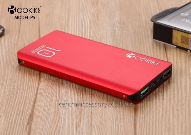 P5 10000mAh Power Bank Portable Chargers Wholesaler Emergency Charger for Handphone and Tablets
