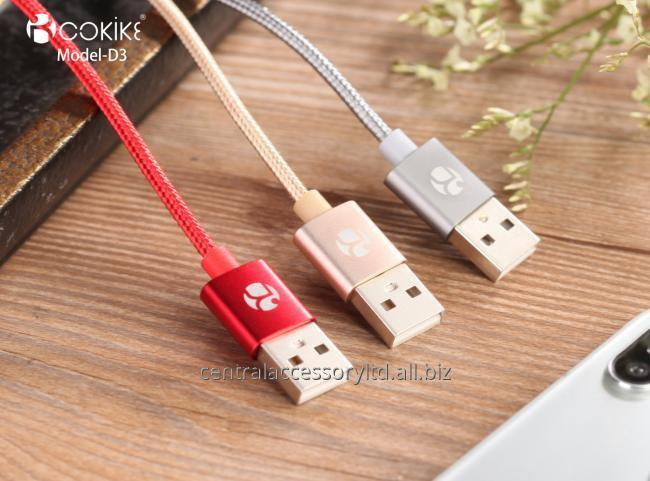 D3 Charging Data Cable Manufacturer Type-C USB transmission Line For Cellphone and Tablets