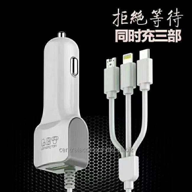 LKT-827A+ fast charging car charger